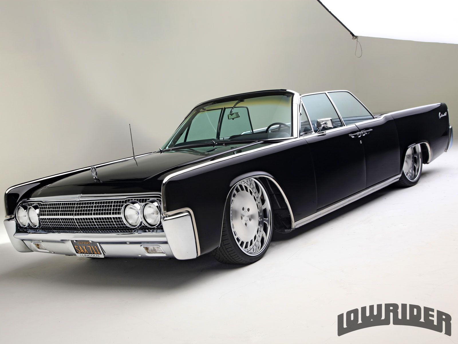 Check out Jerry Mojica's 1963 Lincoln Continental Convertible. This