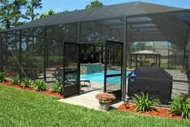 Enclosed Pools Backyard Pool Landscaping Screened Pool Pool Enclosures