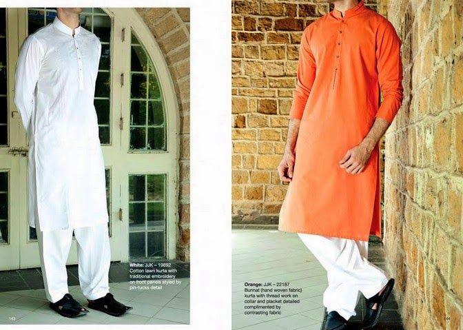 Menswear Kurta dresses 2014 For Eid By Junaid Jamshed (7