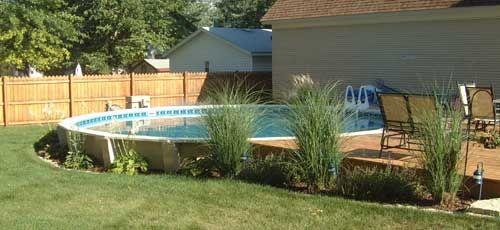 Semi Inground Pools With Decks