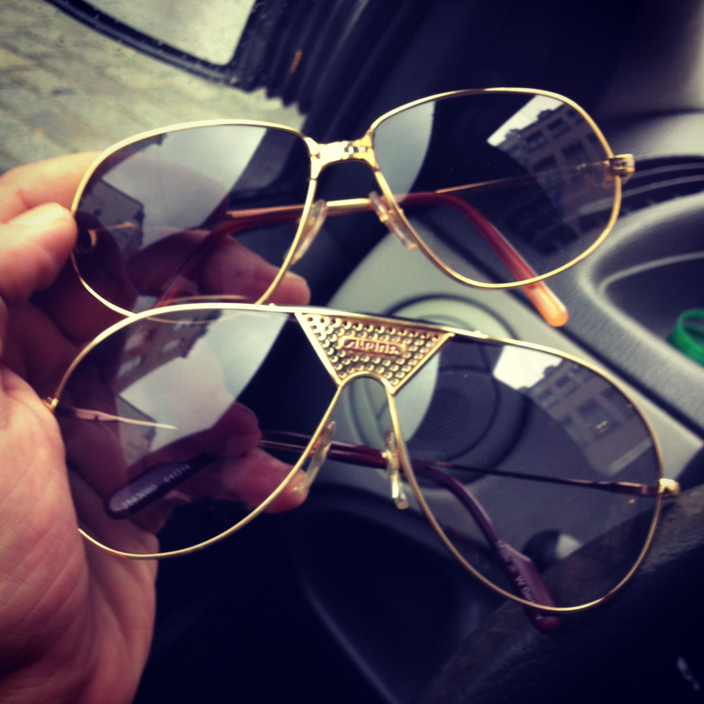 Vintage Cartier Vintage Alpina Tr4 Sunglasses