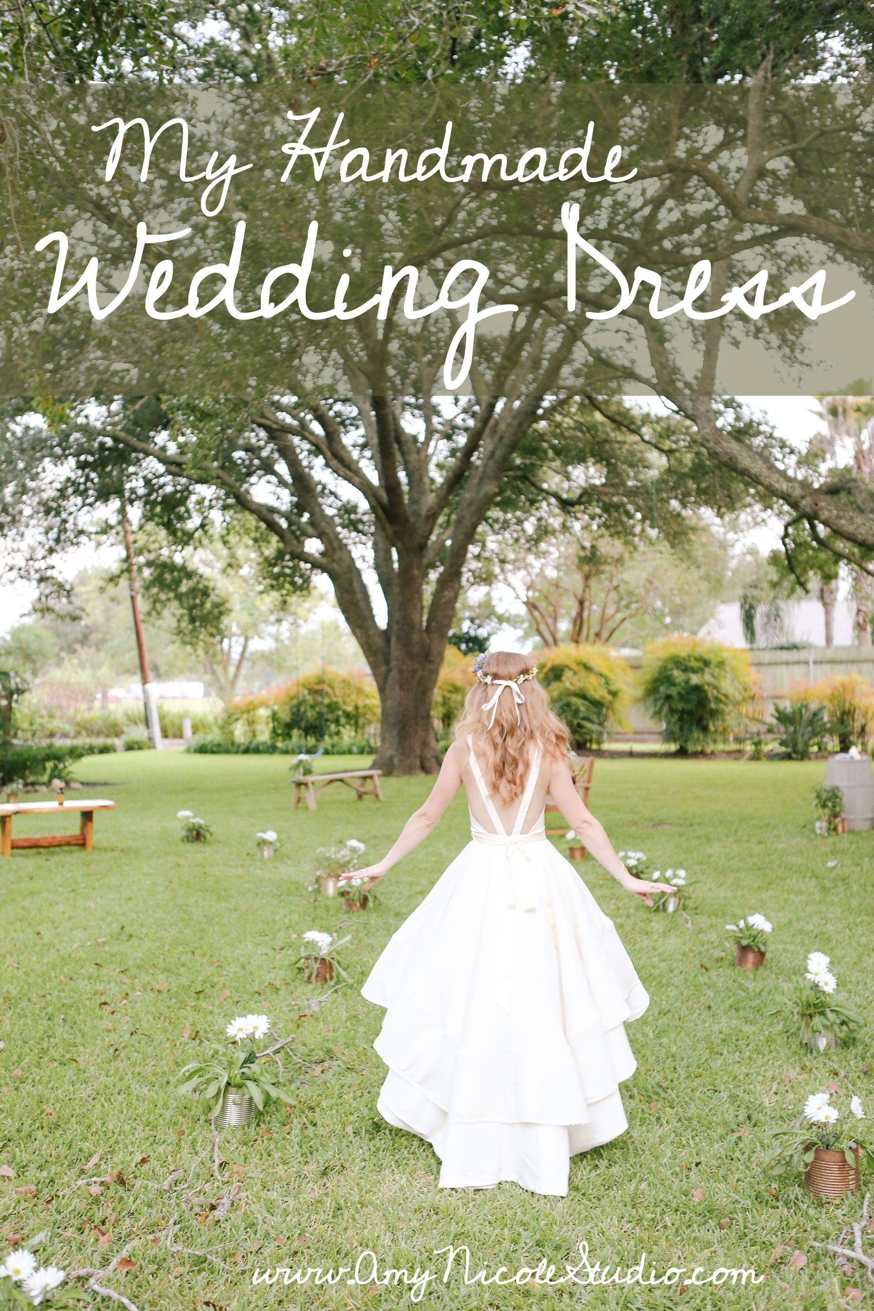 Amy Nicole Studio A Handmade Wedding Dress My Perfect Wedding - Homemade Wedding Dress