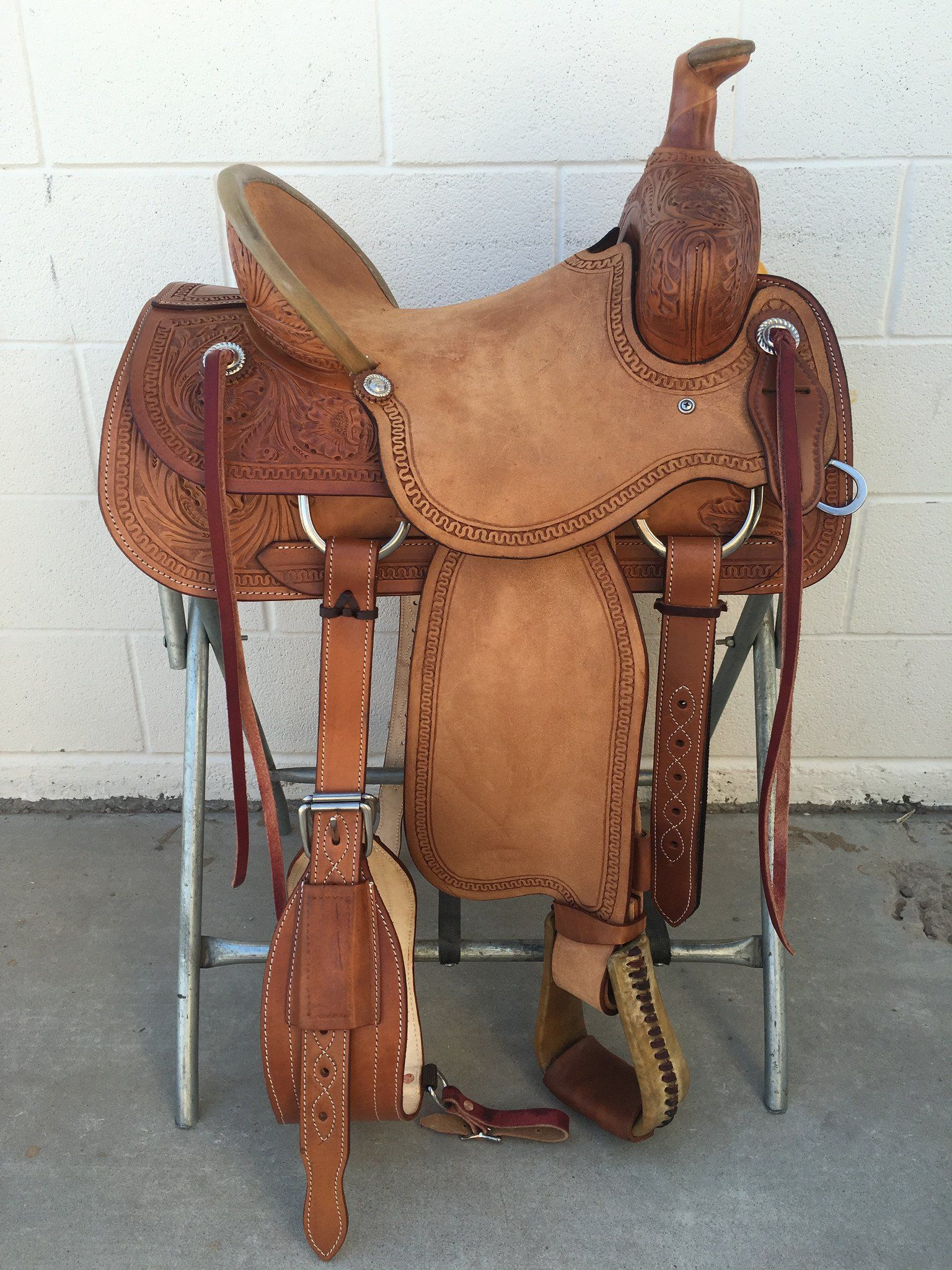 CSA 311 Corriente Association Ranch Saddle | horse stuff | Roping