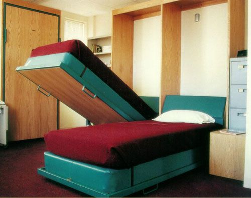 Pinterest & Twin Hide a Bed | Boys room ideas | Hidden bed Bed Bed wall