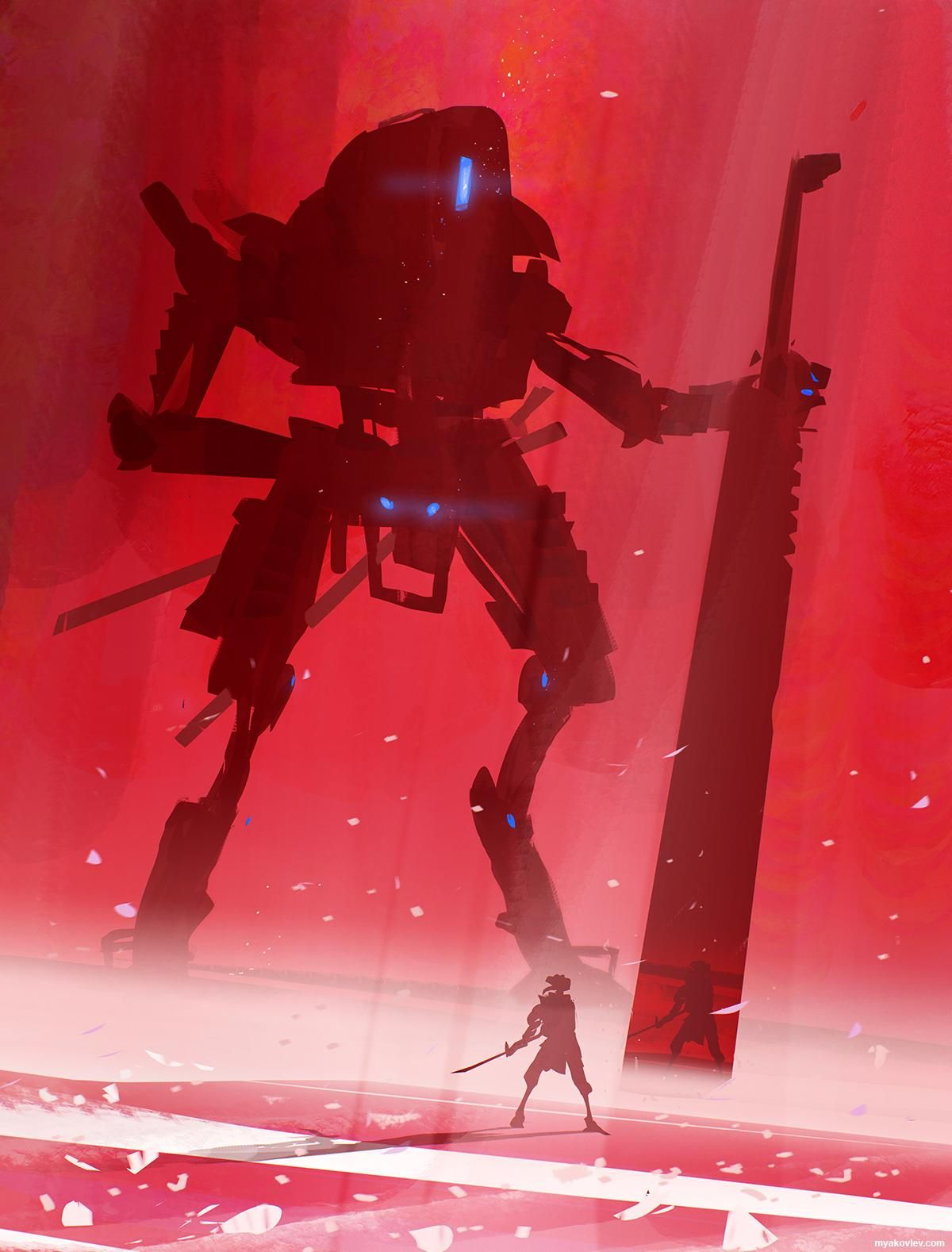 Respect the Sword. Titanfall fanart I did last night