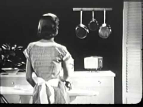 """Published on Feb 24, 2013  Really two commercials in one: A commercial for RCA Victor """"Personal TV"""", an early portable. Contains mild sexism. TV set's were quite expensive in those days. The other commercial promotes RCA Victor's range of radios."""