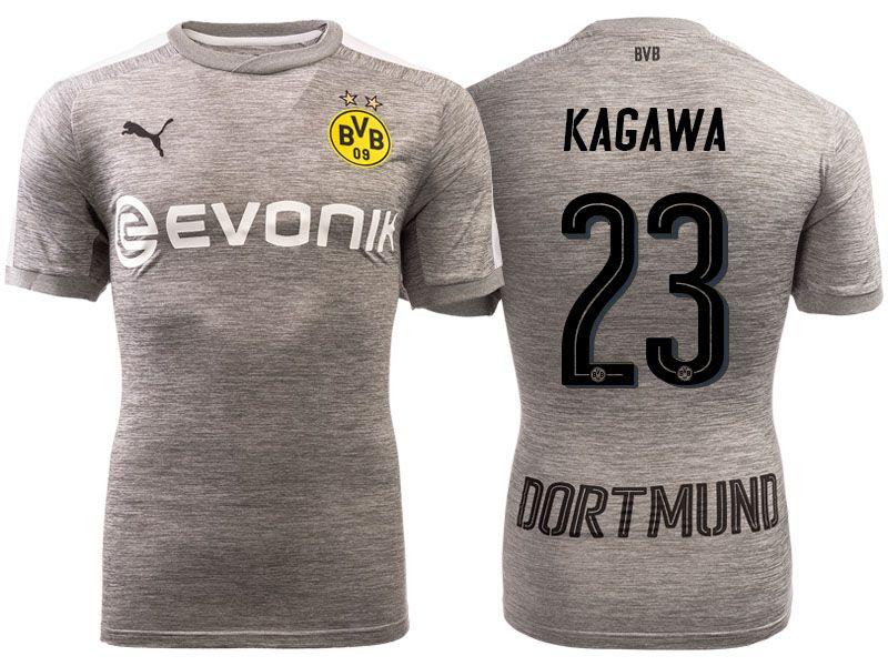 Borussia Dortmund 2017-18 Third Shirt shinji kagawa  19e31e9d0