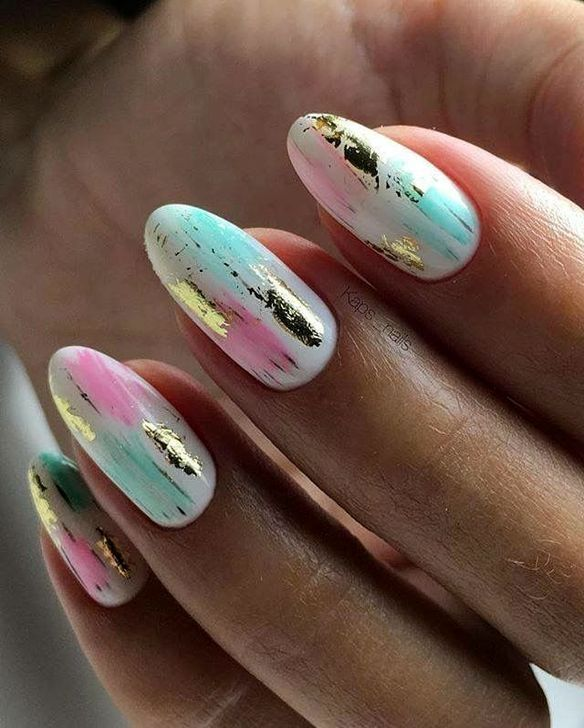 50 Cute Easter Nails Art Design Ideas