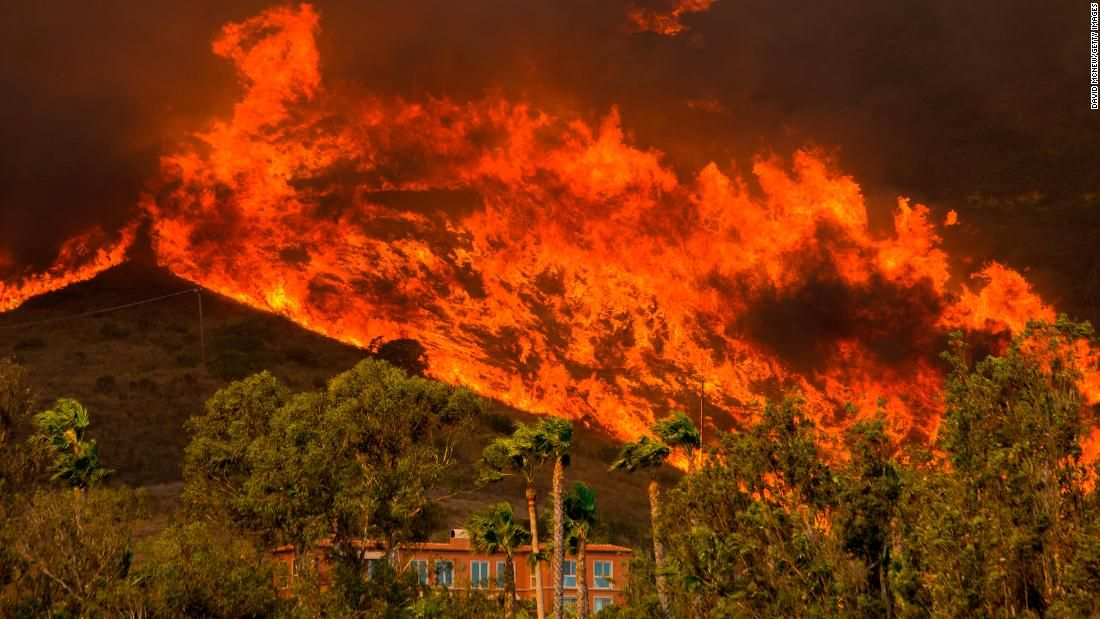 Climate Change Tops World Economic Forum S Global Risk List Ahead Of Davos California Wildfires Climate Change Ventura County