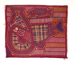 shirt panel (mola) - Indianapolis Museum of Art