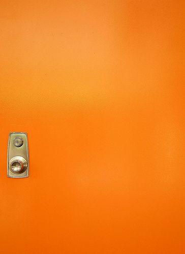 Orange Door Naranja Fotos Minimalistas Fotos