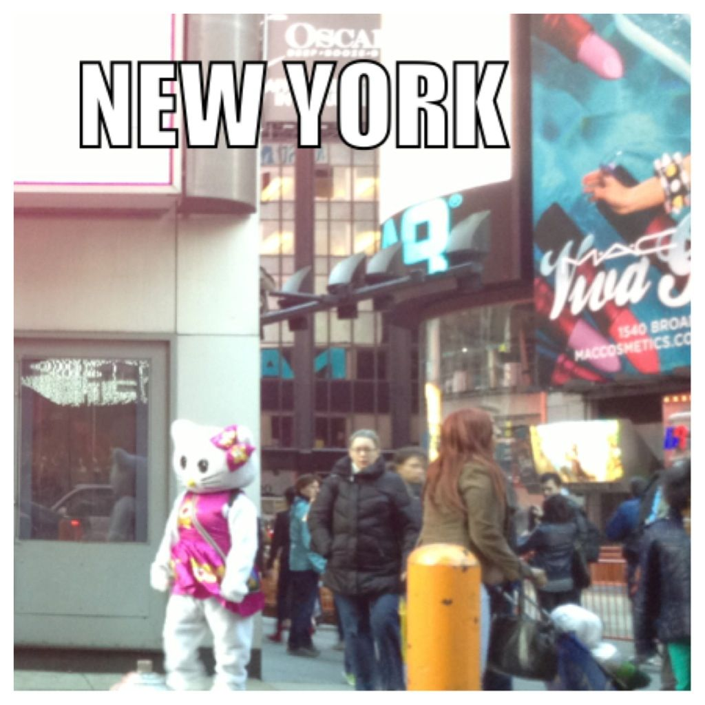 In New York... (Pic I took)