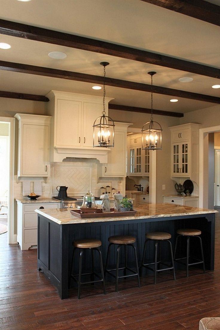 120 Easy And Elegant Cream Colored Kitchen Cabinets Design ...