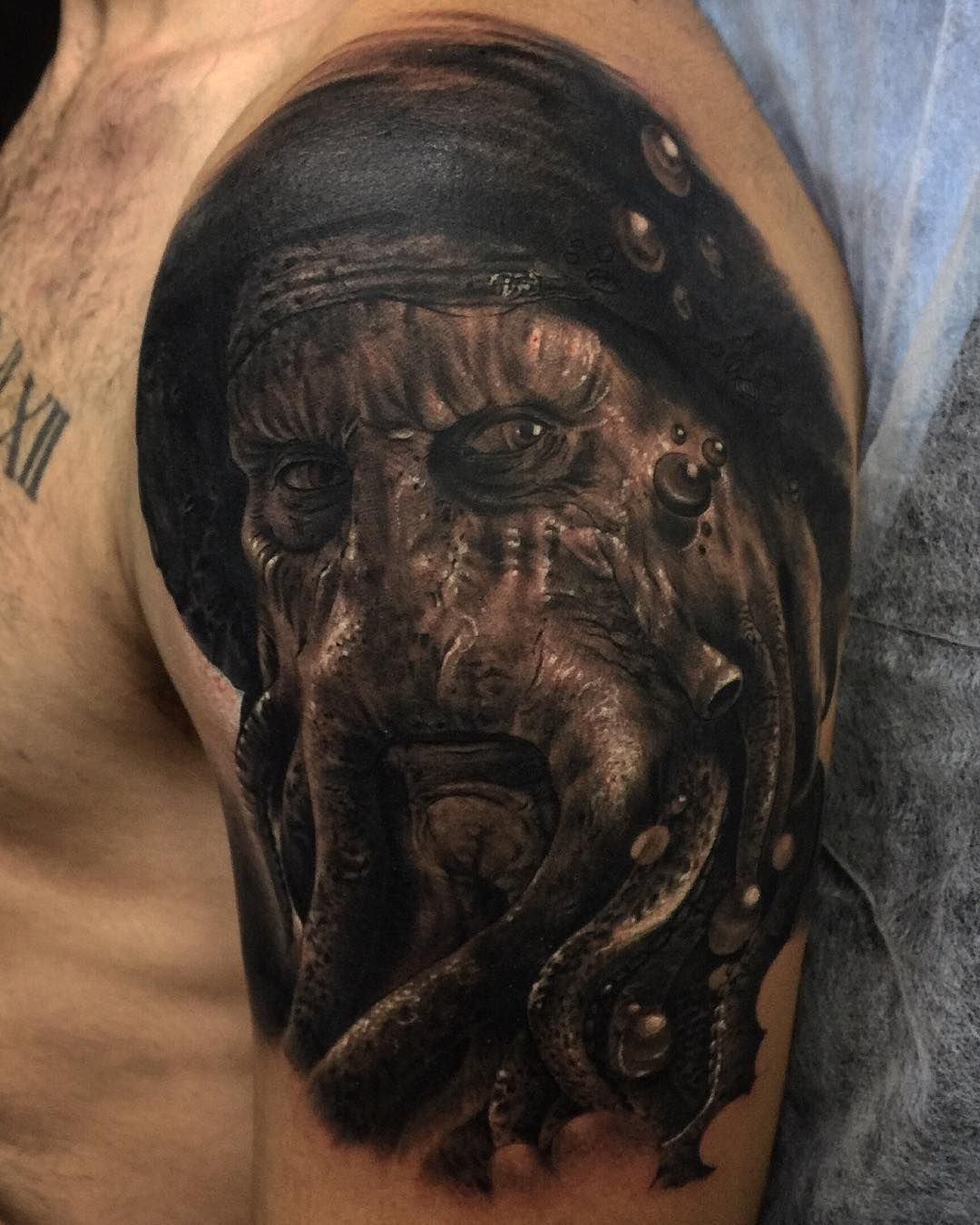 Pirates of the Caribbean Jack Sparrow Tattoo