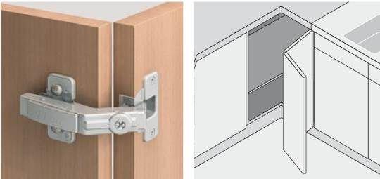Kitchen cabinet folding door google search kitchen styles pinterest corner kitchens and - Accordion kitchen cabinet doors ...