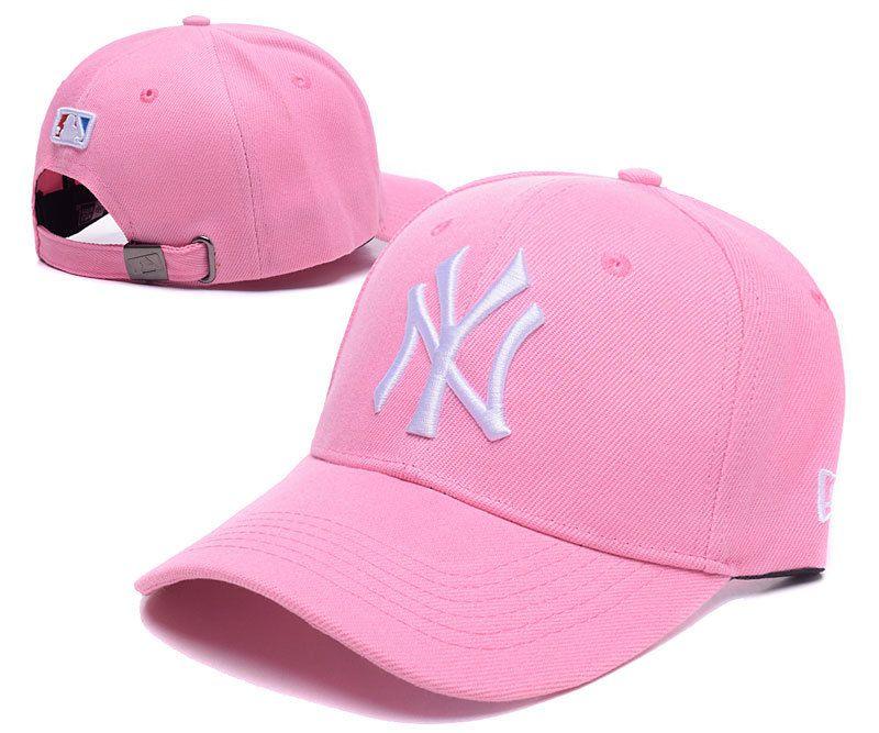 932eddf335d Men s   Women s New York Yankees New Era Classic 3D NY Logo MLB Baseball Adjustable  Hat - Pink   Whtie