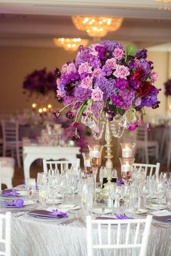Purple Wedding Ideas With Pretty Details Purple Wedding