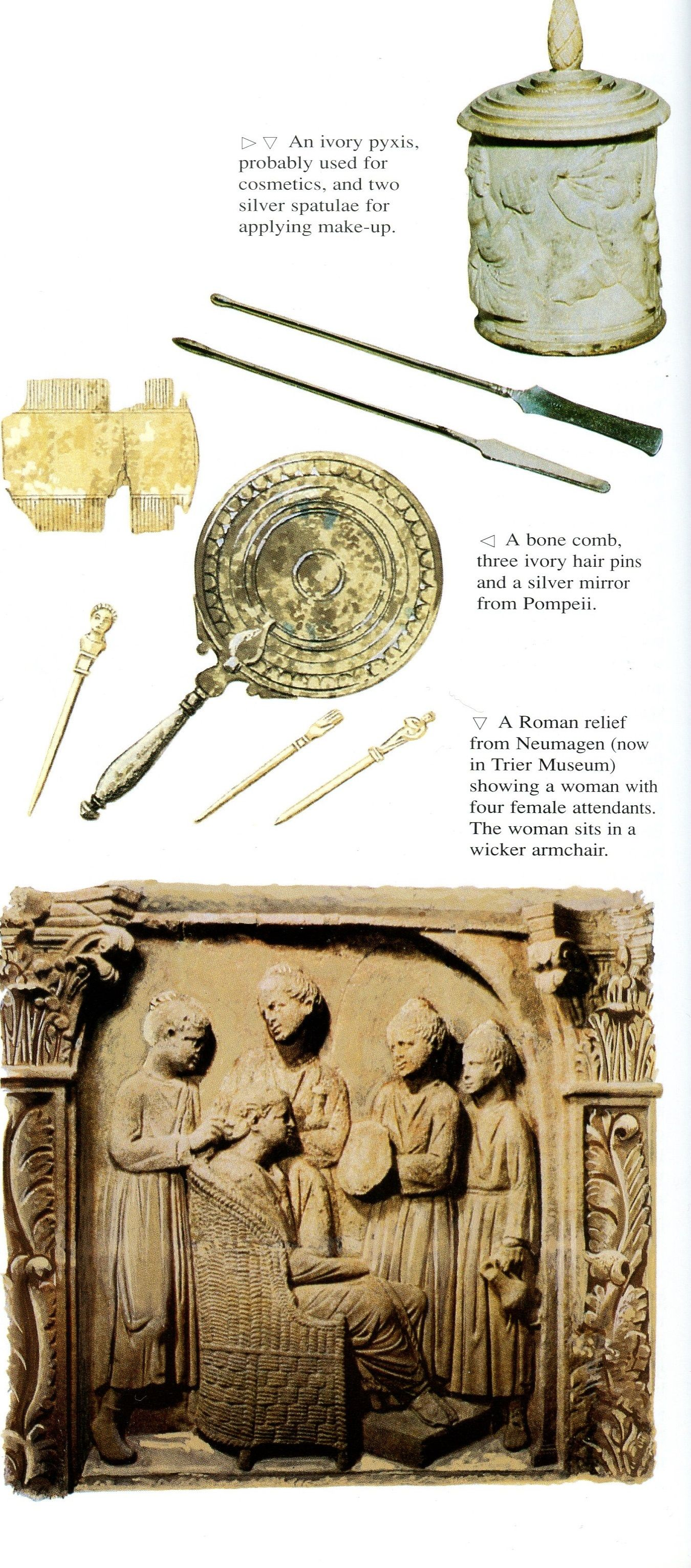 Pictures Relating To Roman Beauty