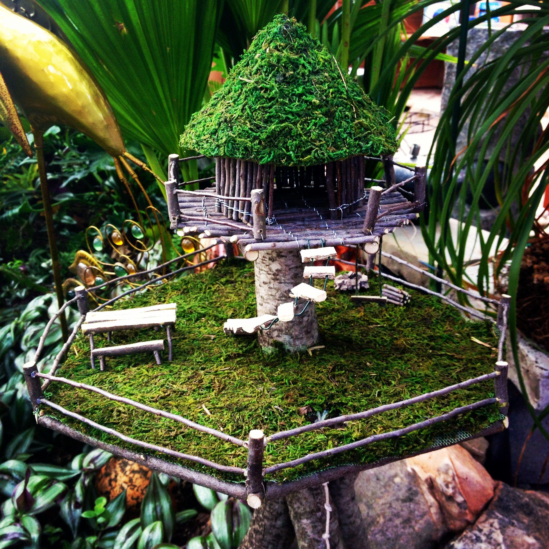 Miniature Tree House miniature trees for fairy gardens | miniature gardens, terrariums