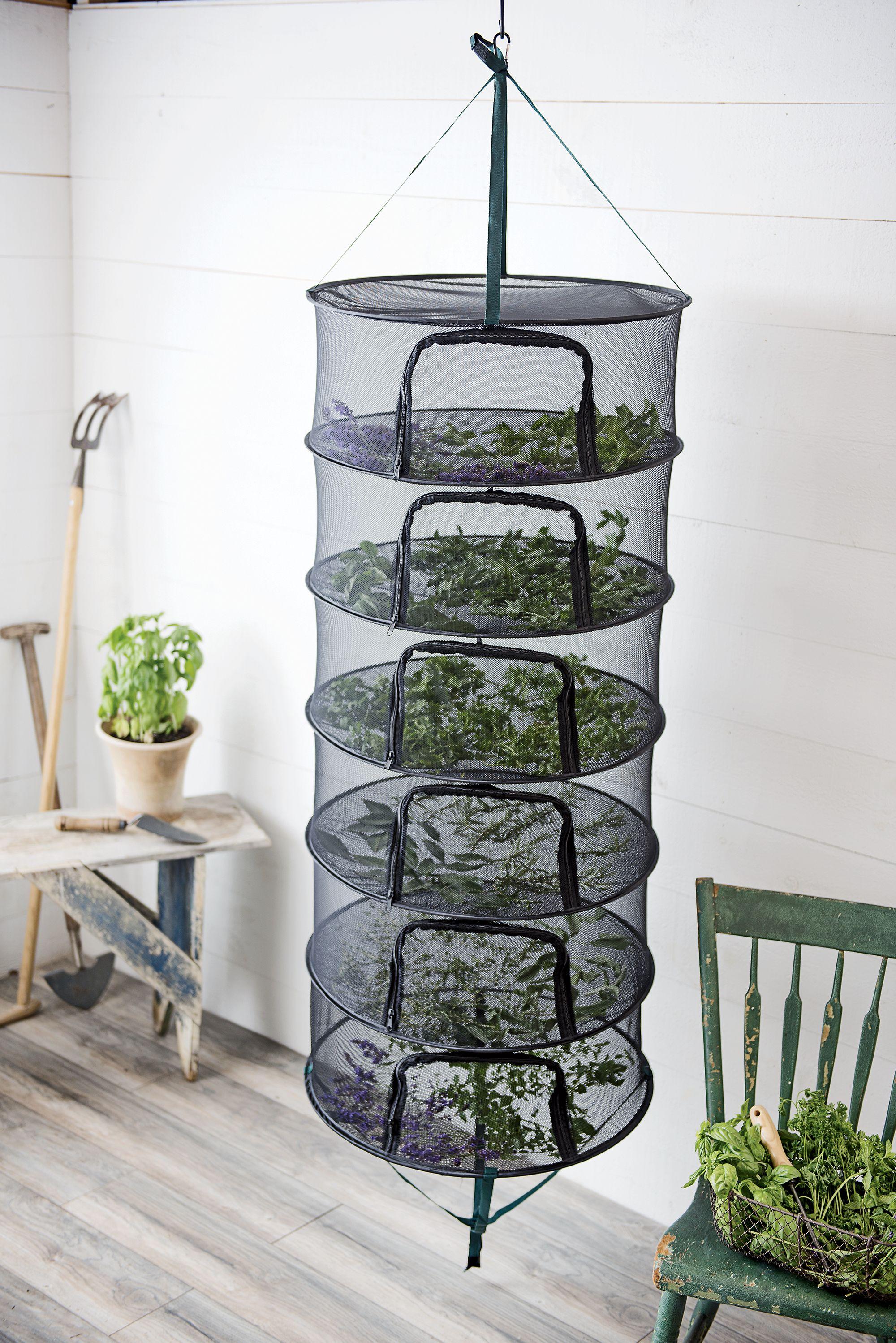 Stack T Herb Drying Rack Gardener S Supply Herb Drying Racks Drying Herbs Garden Supplies