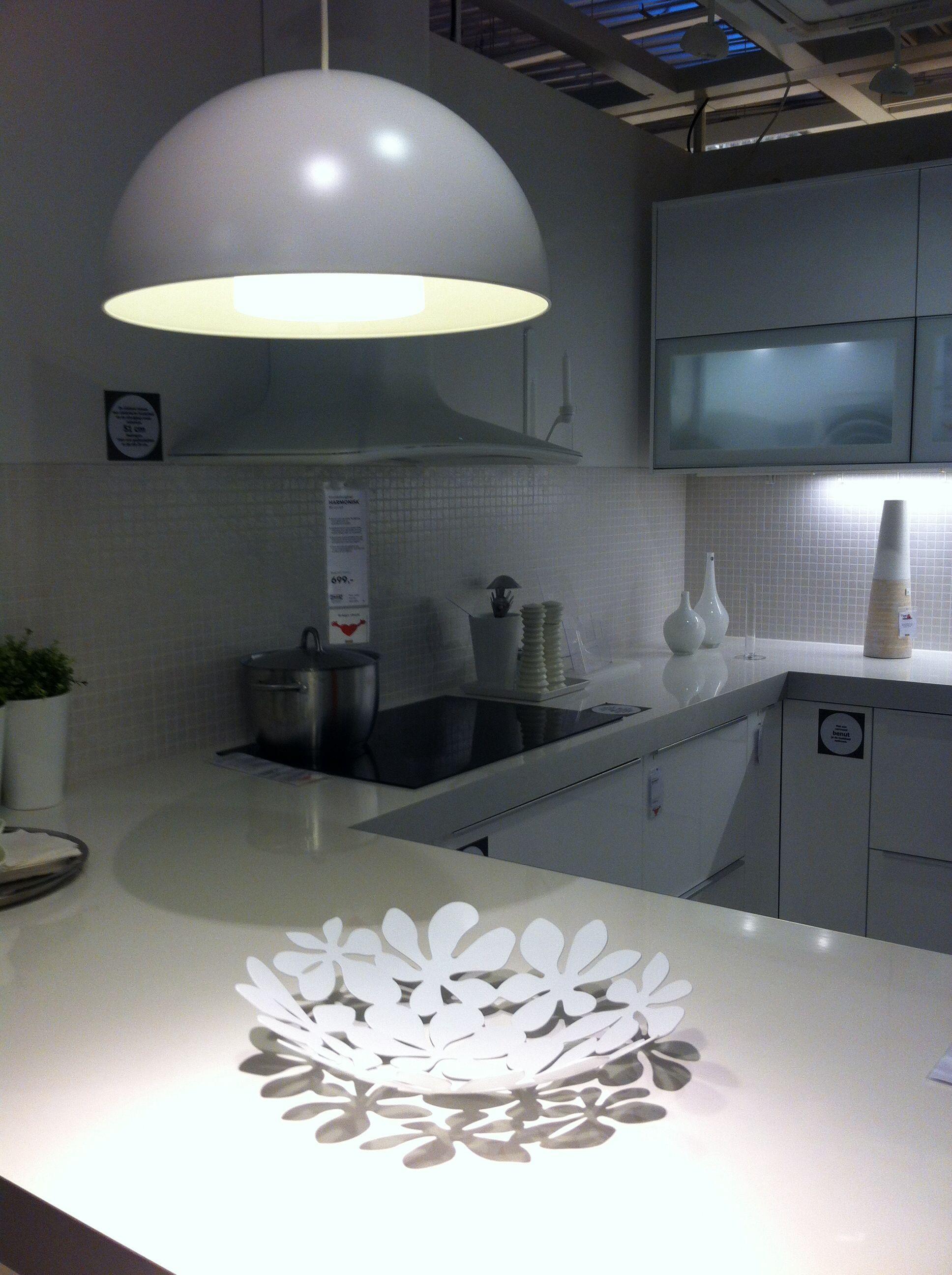 #46505A23640444  Wit Keuken 6 Ikea Gent Casa Ideas From Ikea Pinterest Ikea Van de bovenste plank Ikeakeukenplanner 3403 beeld 193625923403 Inspiratie