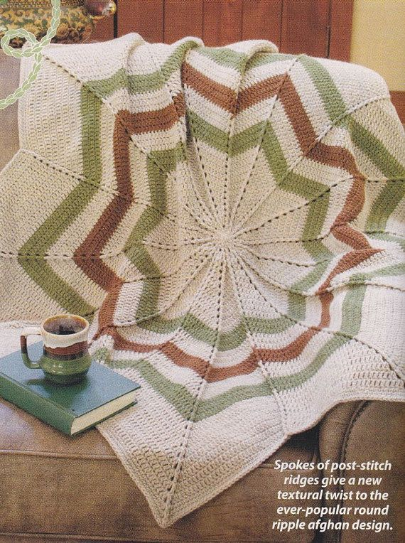 Christmas Afghan Pattern - Crochet World Magazine | tejido ...