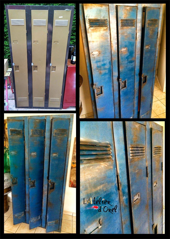 Vestiaire Metallique Effet Indus Vestiaire Metallique Vestiaire Metal Casiers Metalliques