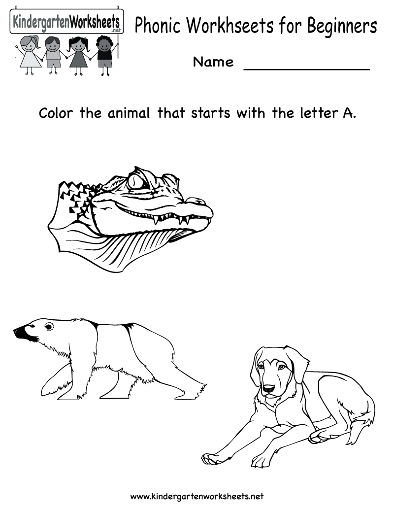 worksheet Free Kindergarten Phonics Worksheets 10 best images about phonics worksheets on pinterest english and assessment