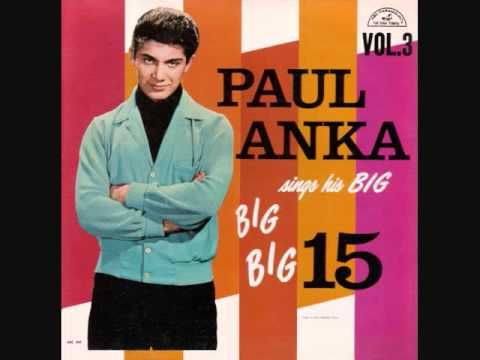 ▶ Paul Anka - I'd Never Find Another You (1962) - YouTube