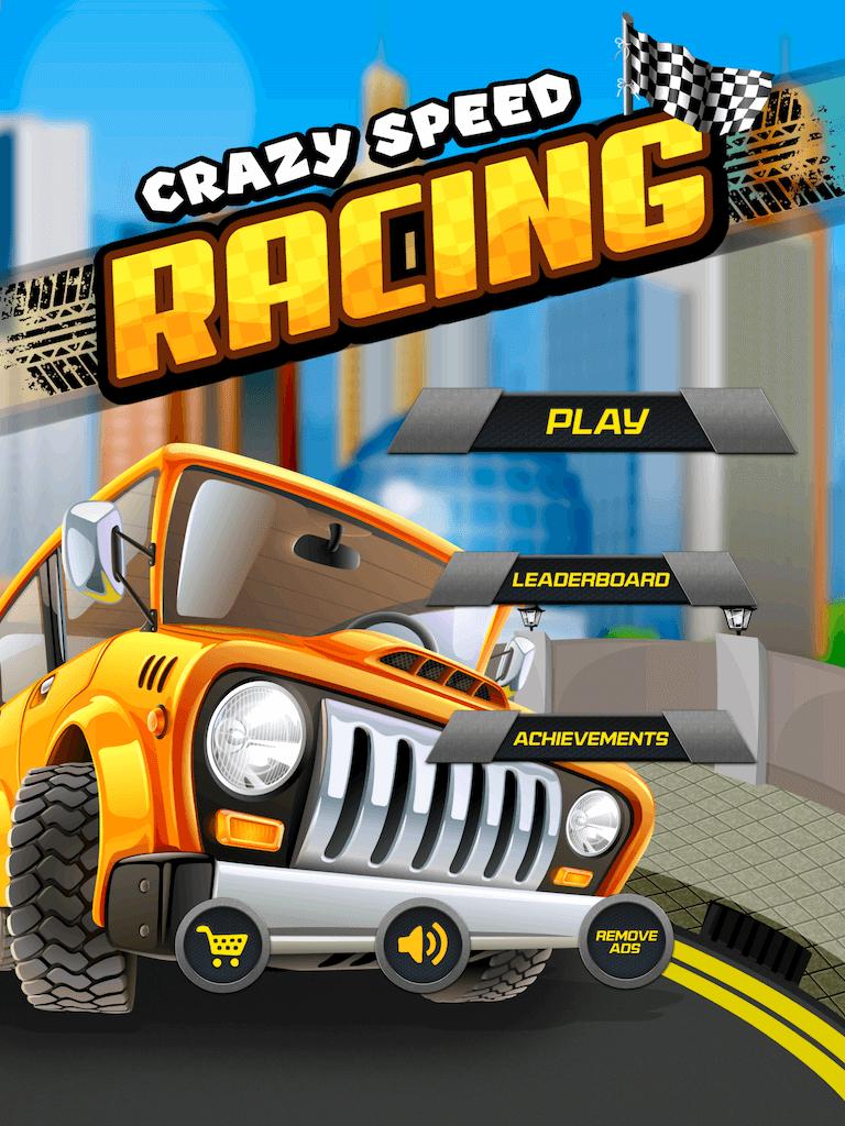 Crazy Speed Racing Epic Free iOS High Speed Racing