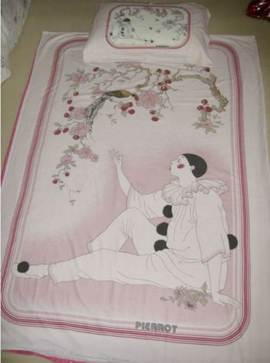 Pierrot The Clown Quilt Set How Many Girls Had These