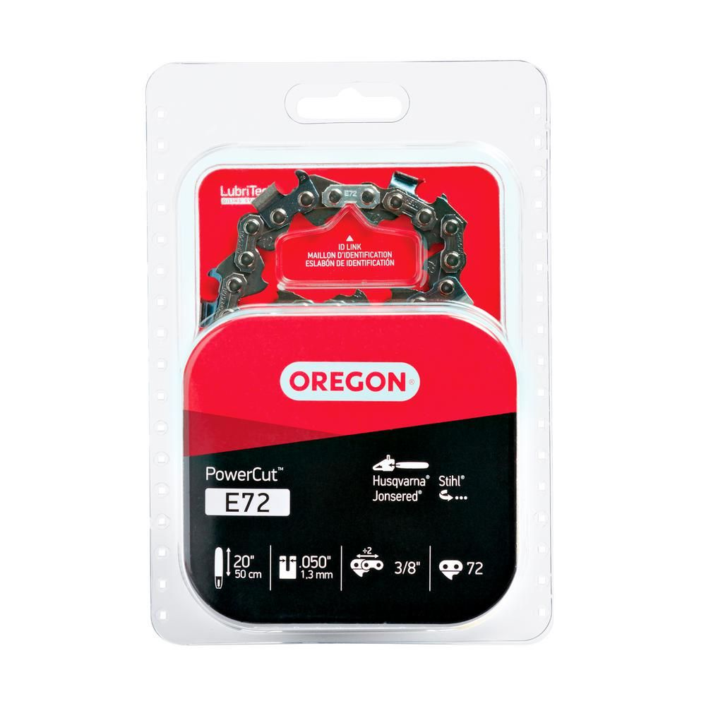 Oregon Powercut 20 In Saw Chain E72 Best Chips Oregon Chainsaw File
