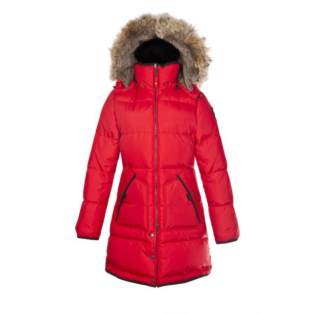 Manteau en duvet PAJAR rouge  PAJAR s Red Down Jacket   Vêtements ... 9553b6c5a5e