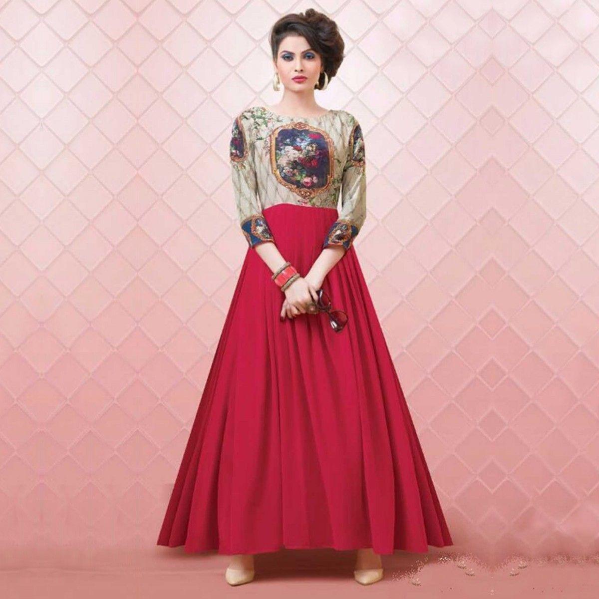 Atractivo Vestidos De Fiesta India Compras En Línea Festooning ...