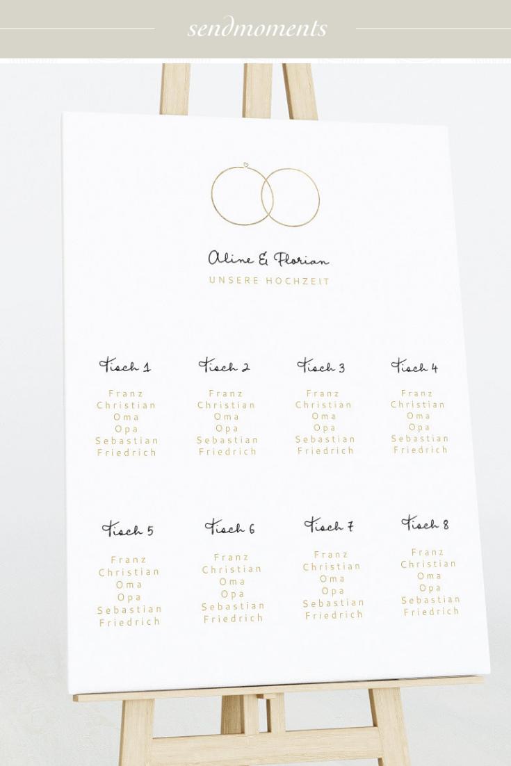 Zarte Ringe Tischplan Auf Leinwand 600x800 Weiss In 2020 Place Card Holders Destination Wedding Wedding