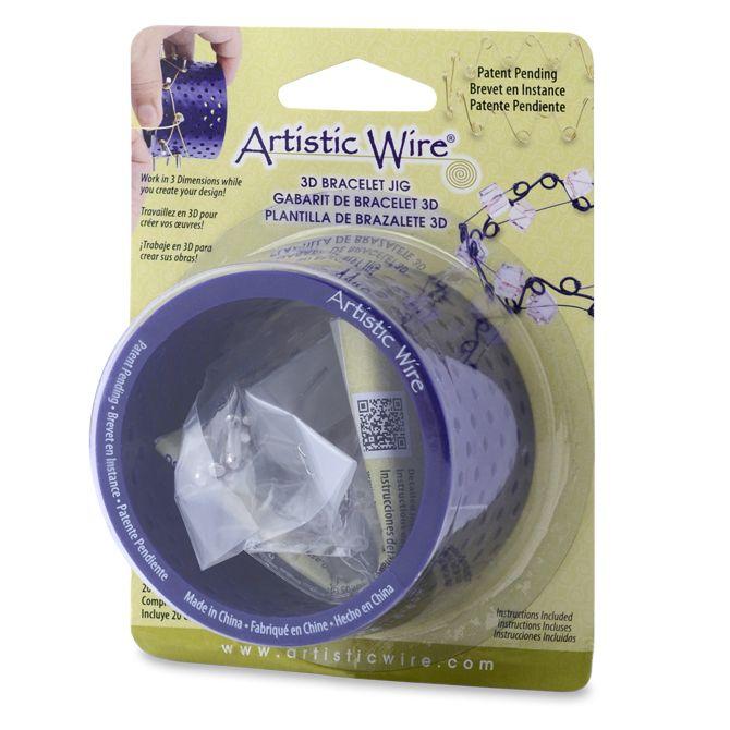Bracelet Jig 3d W//20 Pegs by Artistic Wire