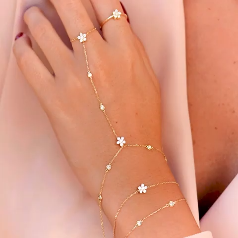 Cadena manual de diamantes de Aquae Jewels – – #accesoriesjewelry #aquae #beautifuljew …