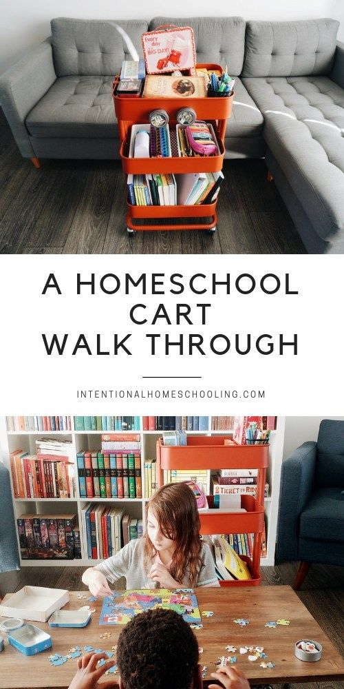 Photo of Our Homeschool Cart – A Walk Through – Intentional Homeschooling