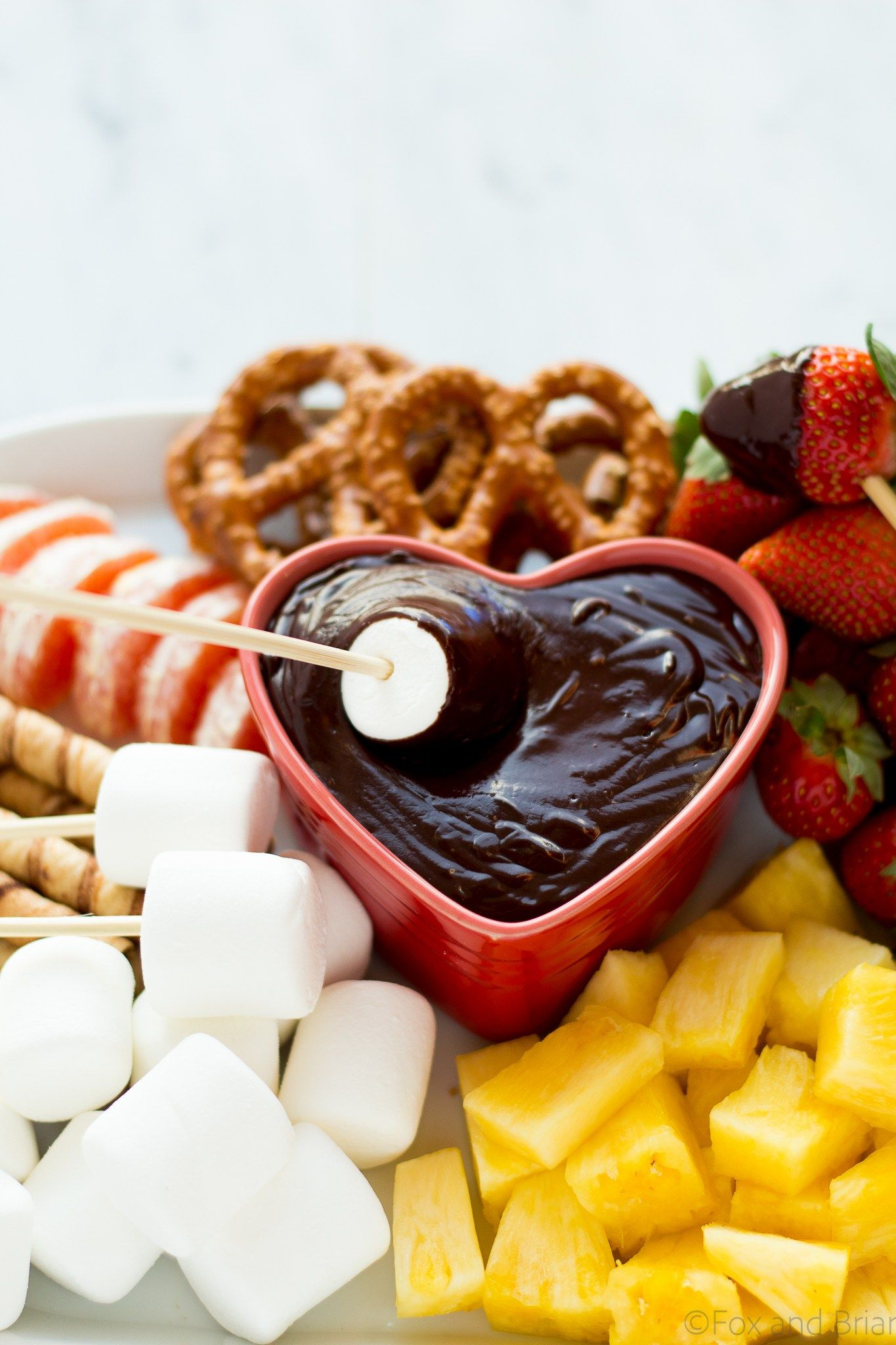 Chocolate Fondue | Recipe | Fondue recipes, Chocolate fondue