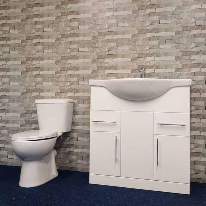 neptune 400  grey brick  plastic upvc wall panels 28m