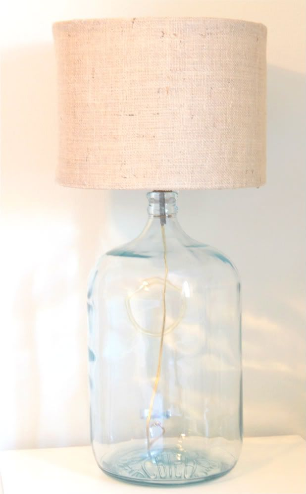 Diyde from scratch drum shades with glass carboy lamps made from scratch drum shades with glass carboy lamps lighting pinterest drum lamp shades bamboo skewers and drums aloadofball Choice Image