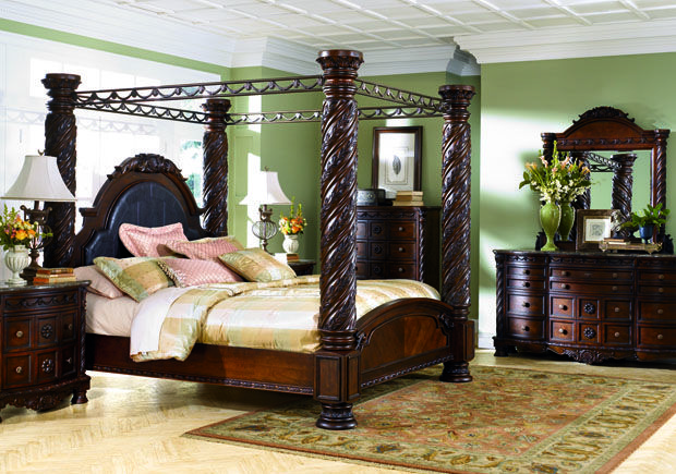 Complete North Shore Furniture Set From Ashley Furniture Canopy Bedroom Sets King Bedroom Sets Bedroom Set