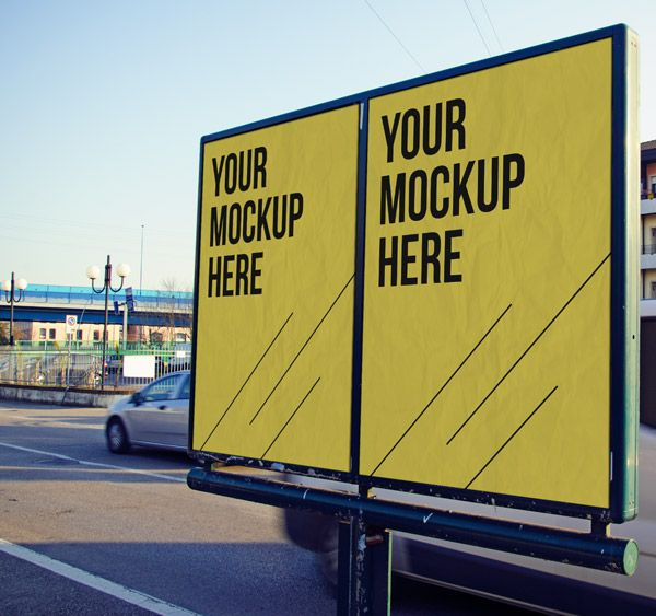 20 Free Psd Templates To Mockup Your Poster Designs Outdoor Advertising Mockup Mockup Free Psd Free Mockup