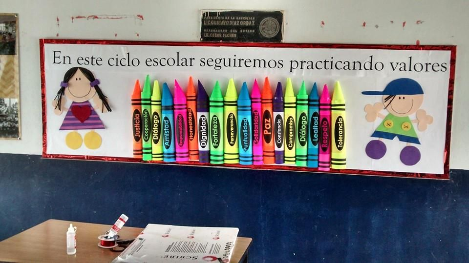 Peri dico mural de inicio de ciclo escolar decoraci n for Diario mural escolar