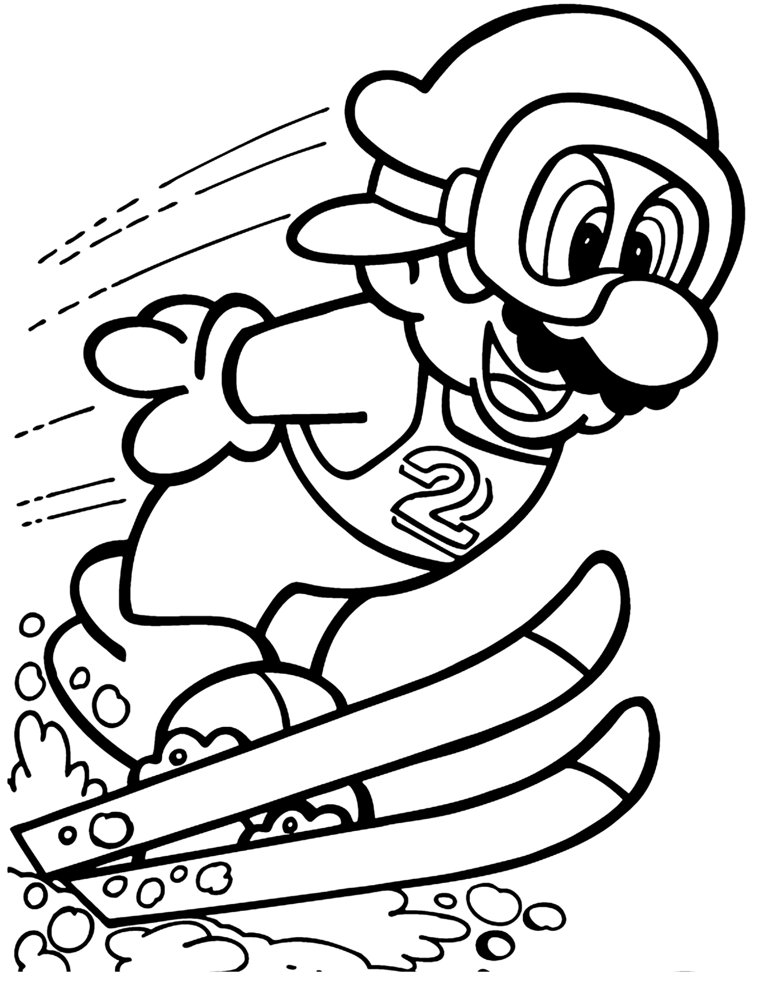 40 Mario Coloring Pages For Kids Mario Coloring Pages Coloring Pages For Kids Coloring Pages [ 3300 x 2550 Pixel ]