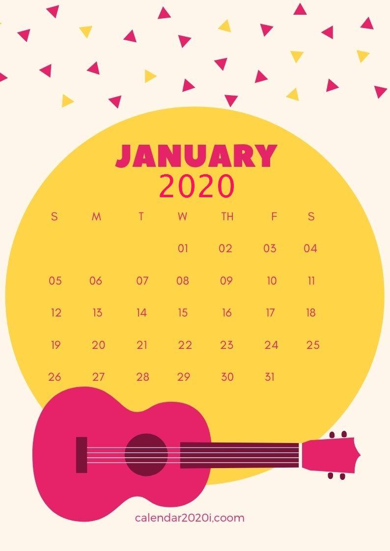 2020 calendar iphone wallpapers