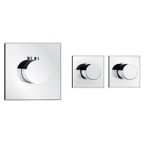 soho 2 wege unterputz thermostat armatur duscharmatur dusche - Dusche Armaturen Unterputz