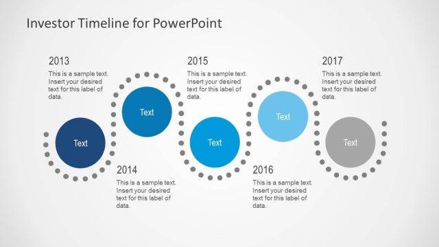 Investor Timeline Slides For Powerpoint  Investors Timeline And