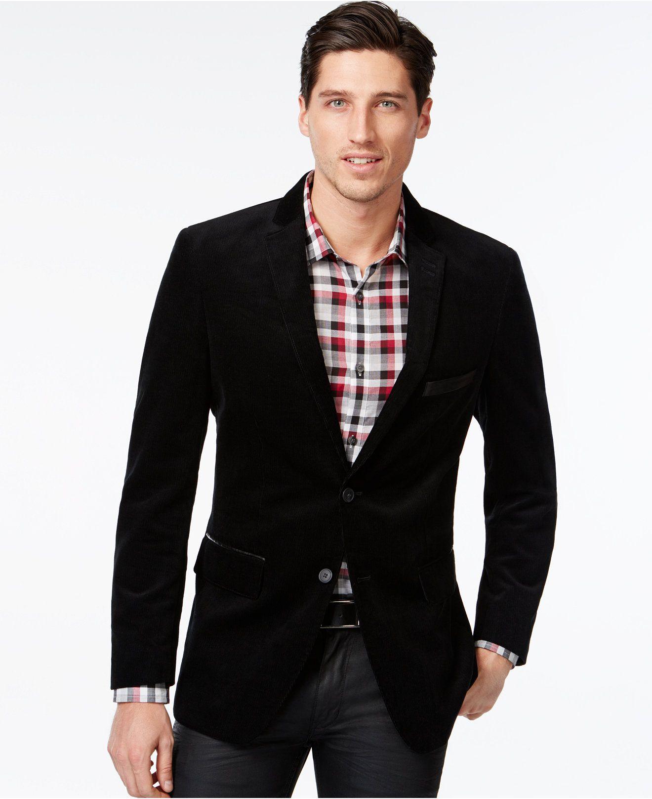 Inc International Concepts Blake Corduroy Blazer Only At Macy S Blazers Sport Coats Men Macy S Corduroy Blazer Mens Sport Coat Blazer [ 1616 x 1320 Pixel ]