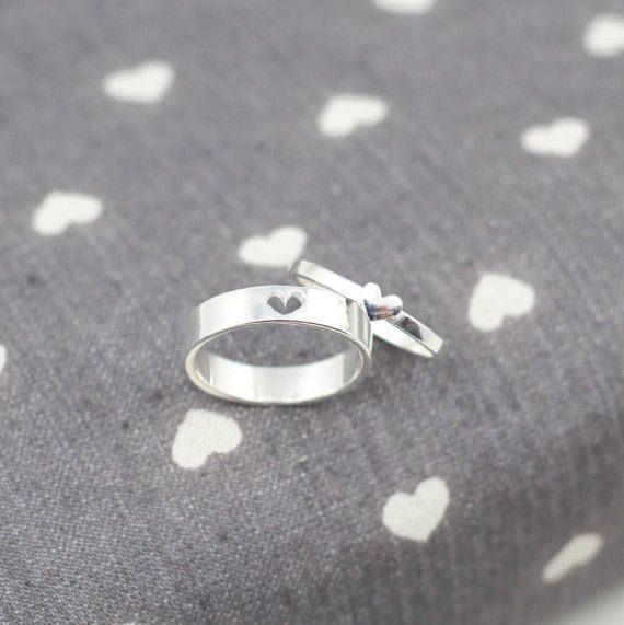 Versprechen Ringe für Paare seine und ihre Versprechen Ringe   Etsy